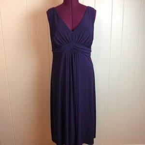 3/$27 Jessica Howard Purple V Neck Party Dress